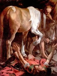 La conversión de san Pablo. Caravaggio
